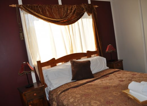 Private Queen bedroom on main floor